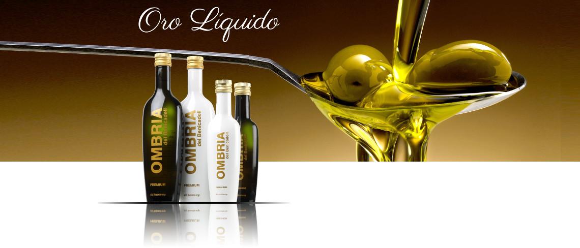 Oro liquido aceite
